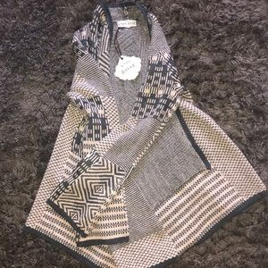 Open front cardigan/sweater